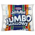 Kraft Jet-Puffed Jumbo Marshmallows Snack - 24 oz. - 8 per case