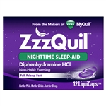 Zzzquil Night Time Sleep Aid Liquicaps