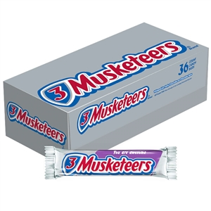3 Musketeers Candy Bar Single - 1.92 Oz.