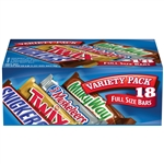 Single Bar Variety Shoebox Cross Branded Candy