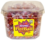 Candy Atomic Fireball Tub