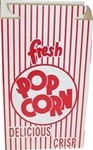 Automatic Bottom Popcorn Box Red with Reclose Top