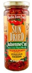 Bella Sun Luci Sun Dried Tomato Julienne in Oil - 8.5 oz.
