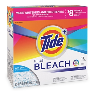 Tide Powder With Bleach Ultra Original - 144 Oz.