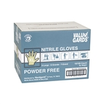 White Valugards Nitrile Powder Free Gloves - Extra Large
