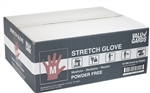 Valugards Stretch Poly Disposable Clear Gloves - Medium