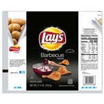 Lays Barbecue Potato Chips - 2.5 oz.