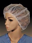 Polyester White Honeycomb Hairnet - 28 in.