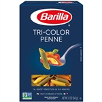 Penne Tri-Color Pasta - 12 oz.