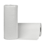 White Perforated Kitchen Roll Towel