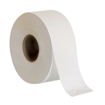 White Jumbo 2 Ply Bathroom Tissue
