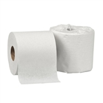 White Standard Roll 2 Ply Bath Tissue