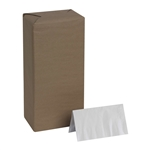 White 2 Ply Paper Dinner Napkin - 17 in. x 15 in.
