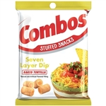 Combo 7 Layer Dip Tortilla Snacks - 6.3 Oz.