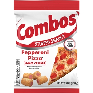 Combo Pepperoni Pizza Cracker Snack - 6.3 oz.