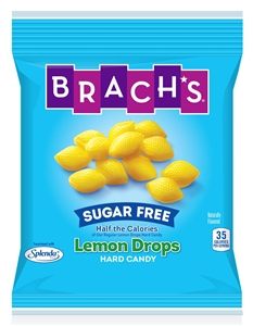 Brach Candy Lemon Sugar Free Drops - 4.5 oz.