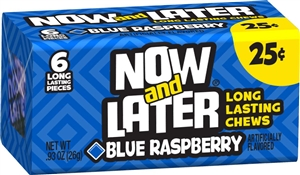 Candy Now and Later Blue Raspberry