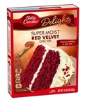 Betty Crocker SuperMoist Red Velvet Cake Mix - 15.25 Oz.