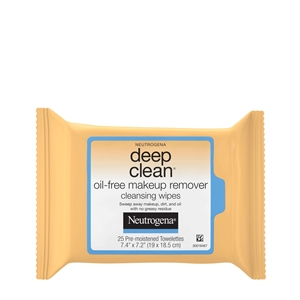 Deep Clean Makeup Remover Cleansing Wipes