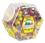 Rain-Blo Bubble Gum Balls Assorted - 6.43 Lb.