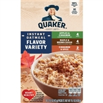 Quaker Instant Oats Variety Pack - 15.1 oz.
