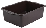 Standard Weight Dish Box Brown - 7 in.