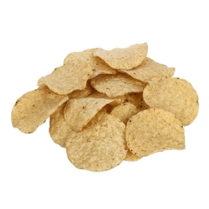 White Round Tortilla Chips No Salt - 2 Lb.
