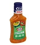 Kraft Zesty Italian Dressing - 8 fl.oz. - 9 per case