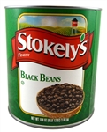 Stokely Beans Black - 108 Oz.
