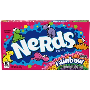 Nerds Rainbow Theater Box Candy - 5 oz.