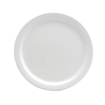 Buffalo Cream White Plate Narrow Rim - 5.5 in.