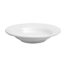 Buffalo Cream White Soup Bowl Rimmed - 24.5 Oz.