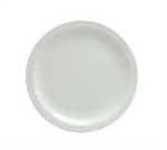 Buffalo Bright White Narrow Rim Plate - 7.25 in.