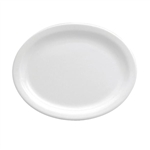 Buffalo Bright White Narrow Rim Plate - 10.38 in.
