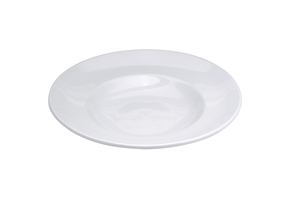 Buffalo Bright White Pasta Bowl - 12 in.