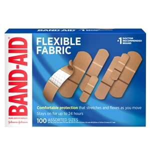 Band Aid Flexible Fabric Assortment