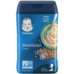 Gerber Cereal Multigrain Multipack - 8 Oz.