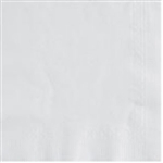 2 Ply Beverage White Napkins - 10 in. x 10 in.