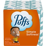 Puffs Basic Personal Tissue Facial Tissue 2 Ply Non-Lotion White Unscented