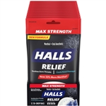 Halls Extra Strong Cough Drop Bag