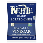 Kettle Sea Salt and Vinegar Potato Chips - 1.5 oz.