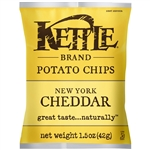 Kettle New York Cheddar Potato Chip - 1.5 oz.