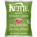 Jalapeno Kettle Potato Chip Variety Pack Open Top - 1.5 Oz.