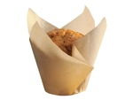Natural Tulip Large Baking Cup - 2.25 in. x 2.75 in.