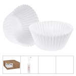 White Baking Cups