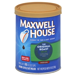 Maxwell House Coffee Original Decaf - 11 oz.