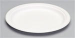 Compostable Natural White Plate - 10 in.