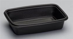 Polypro Microwave Safe Black Container - 32 oz.