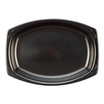 Laminated Foam Black Platter - 7 in. x 9 in.