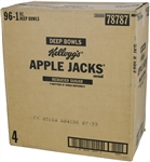 Apple Jacks Reduced Sugar Bowl Whole Grain Cereal - 1 oz.